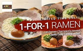 ik cuisine promotion the ramen and wagyu edition promotional price opening 1 for 1 and