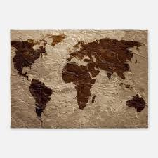 world map area rug rugs decoration