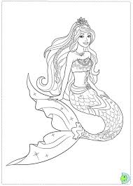 pictures colour barbie colouring pages free printable