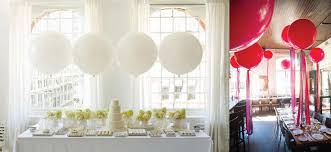 jumbo balloons decorating on a budget 5 ways to use balloons the idea