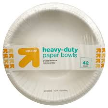 paper bowls heavy duty disposable paper bowls 12oz 38ct up up target