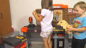 Kids Tool Bench Home Depot Kid Tested Step2 Home Depot Pro Play Workshop U0026 Utility Bench