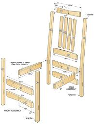 woodworking chairs plans plans diy free download printable