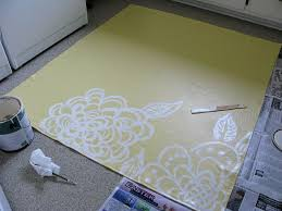 Painted Rug Stencils Best 25 Paint A Rug Ideas On Pinterest Paint Rug Painting Rugs