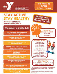 thanksgiving new canaan ymca