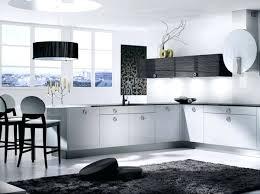 deco cuisine noir et blanc deco cuisine noir et blanc un carrelage contemporain en noir et