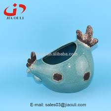 Animal Planter by Easter Decoration Ceramic Chicken Animal Planter Antique Ceramic