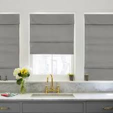 window treatments kitchen natural fiber cordless roman shade pottery barn for the home
