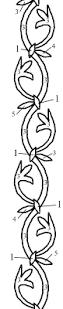25 viking embroidery ideas chain stitch