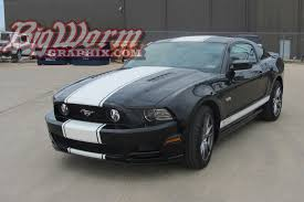 2013 mustang gt stripes 2010 2014 mustang snake style stripes from big worm graphix