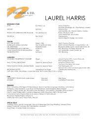 Singer Resume Example by 100 Actor Resume Washington Dc Actor Daniel Cantor Oprah