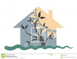 logo of the eco friendly house stock vector image 54295050