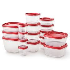 rubbermaid easy find lid food storage set plastic 42 piece house