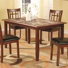 Contemporary Dining Room Sets Jonesboro Contemporary Dining Table By Coaster Casual Kitchen