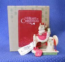 vintage box tea for two mice antique sewing