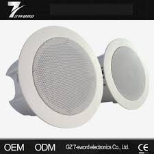 Hanging Ceiling Speakers by Wall Hanging Sound System Box For Broadcasting Ceiling Speaker