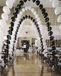 to get balloons to hang upside down just put a marble inside