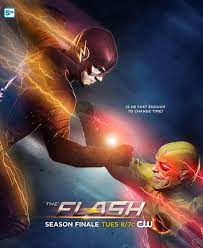 flash vs arrow wallpapers the flash cw images the flash vs reverse flash finale poster