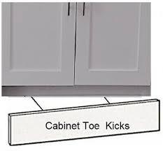 how is a cabinet toe kick kitchen cabinet toe kick 90 in x 4 5 in x 0 25 in in birch unfinished wood ebay