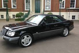 convertible mercedes black 1996 mercedes w124 e220 convertible being auctioned at barons auctions