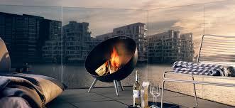 fireglobe fireplace black 571099