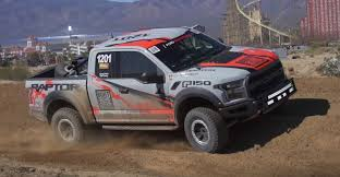 behind the scenes 2017 ford f 150 raptor takes on the baja 1000