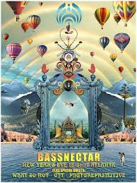bassnectar nye poster bassnectar the official poster of basslanta nye 2017