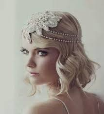 great gatsby hair accessories the hair could go black for an evening and non wedding look
