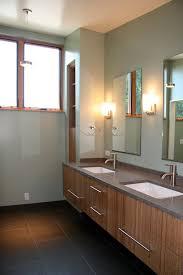 undermount bathroom sinks bathroom contemporary with back painted