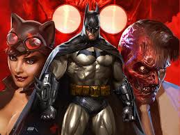 dc halloween background batman dc comics catwoman two face hugo strange wallpapers hd