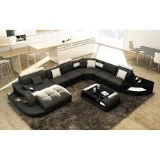 design canape canapé d angle design panoramique noir et blanc istanbul angle