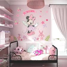 decoration chambre minnie stickers muraux enfant minnie mignonne fille chambre déco officiel