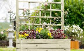 pergola wonderful planter with trellis bespoke planters