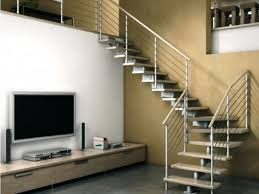 Living Room With Stairs Design Stairs Modern Stair Railing For Cool Interior Staircase Design