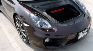 porsche trunk 2014 porsche cayman s u2013 review ihab drives