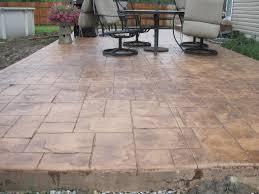 Color Concrete Patio stamped concrete patio designs licensed insured and bonded