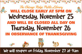 library closed for thanksgiving library events calendar