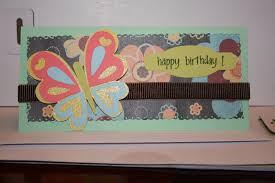 sallie sweet sewing and cricut crafts birthday card for 2 year