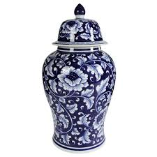 a u0026 b home 9 5 in x 18 in decorative ginger jar av69766 the