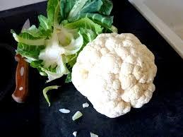 cuisiner les feuilles de chou fleur chou fleur patate douce et crème aux champignons recette de