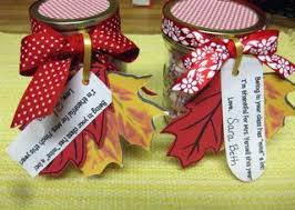 fall thankful jars ideas for sayings to go along with different