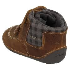 cruiser boots baby infant boys clarks first leather cruiser pre walker ankle