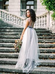 Dove Gray Wedding Dress Old World Splendor In Grey