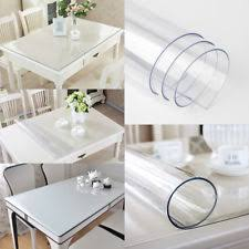 Plastic Desk Cover Protector 2mm Plastic Table Sheet Protection Cover Desk Roll Transparent Pvc
