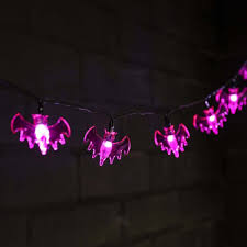 Philips Halloween Lights Halloween Bat Fairy Lights 10 Purple Leds