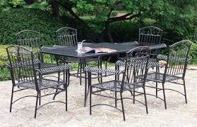 Iron Patio Table And Chairs Wrought Iron Patio Furniture Dining Sets U2014 Bitdigest Design