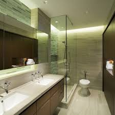 award winning condo project bathroom contemporary with double