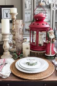 Simple Christmas Home Decorating Ideas by Best 25 Christmas Dining Rooms Ideas On Pinterest Rustic Round