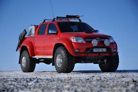 toyota truck hilux toyota hilux at35 arctic trucks poland the official branch of
