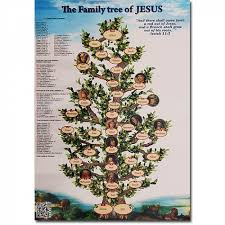 the family tree of jesus poster holy land christian gifts